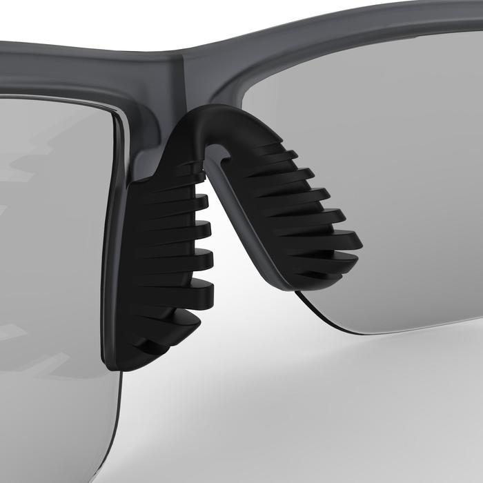 Hardloop zonnebril Runtrail fotochromatisch antifog cat. 1 tot 3 grijs/geel