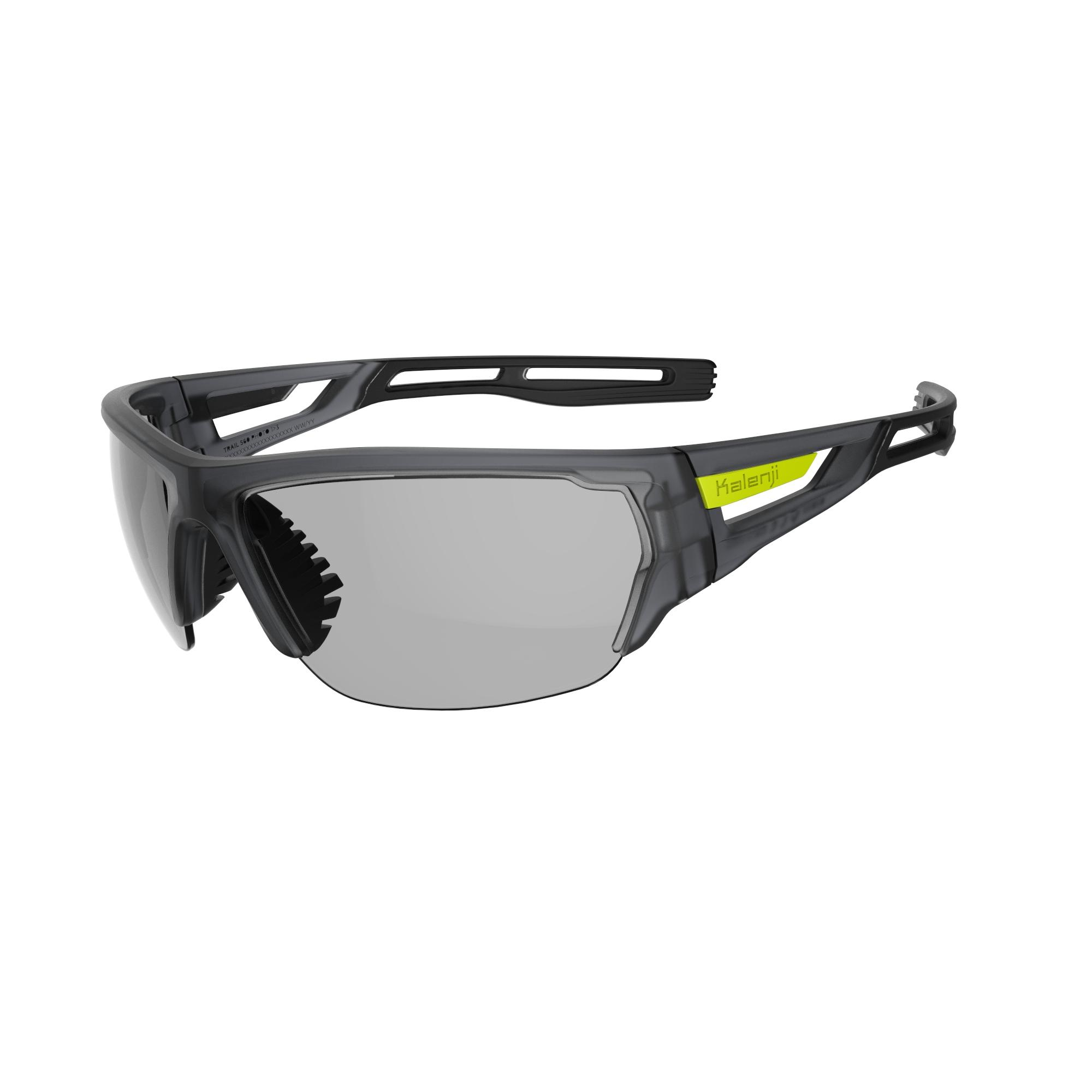TRAIL 560 Cat. 1-3 Adult Running Glasses - Photochromatic Grey
