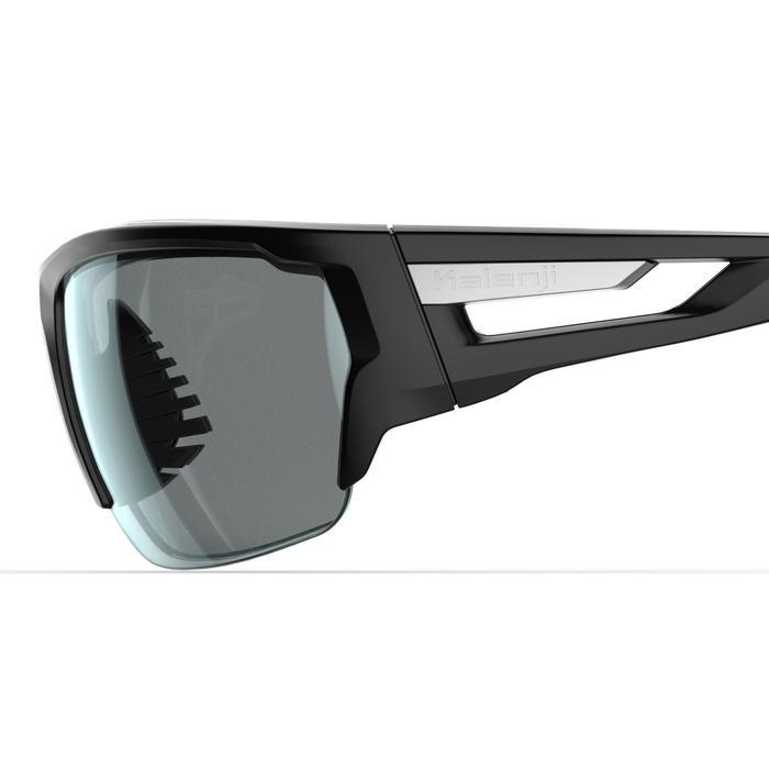 Hardloopbril voor volwassenen Trail 500 categorie 3 zwart/wit