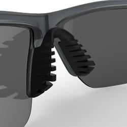 RUNSTYLE ADULT CATEGORY 3 RUNNING GLASSES - GREY/GREEN