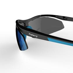 Running 600 Adult Running Glasses Category 3 - Black and Blue