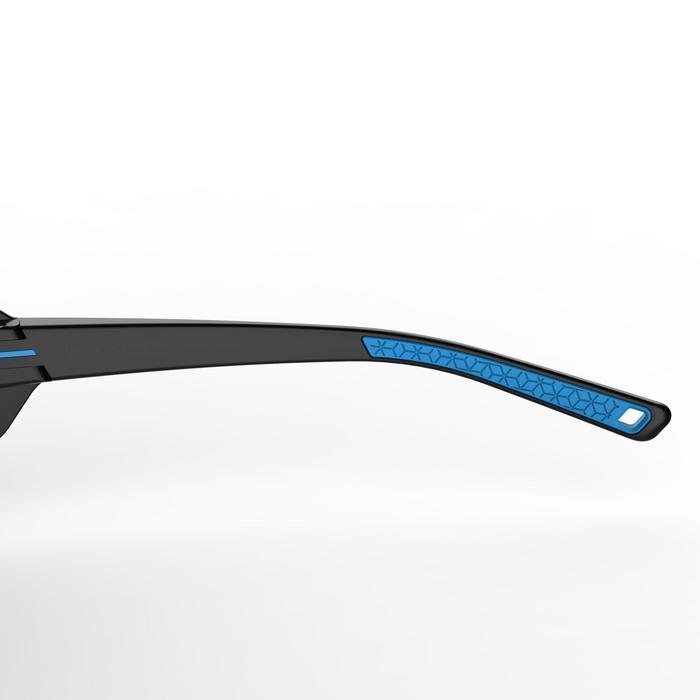 Lunettes de soleil de randonnée adulte MH 510 noires & bleues catégorie 4