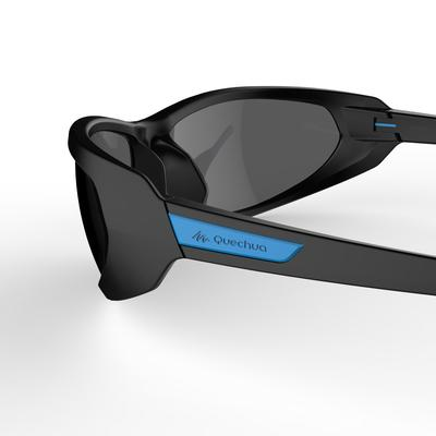 Category 4 Adult Polarised hiking sunglasses MH 550 - Black & blue