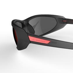 Sonnenbrille Sportbrille MH550 polarisierend Kategorie 4 Erwachsene grau/rot