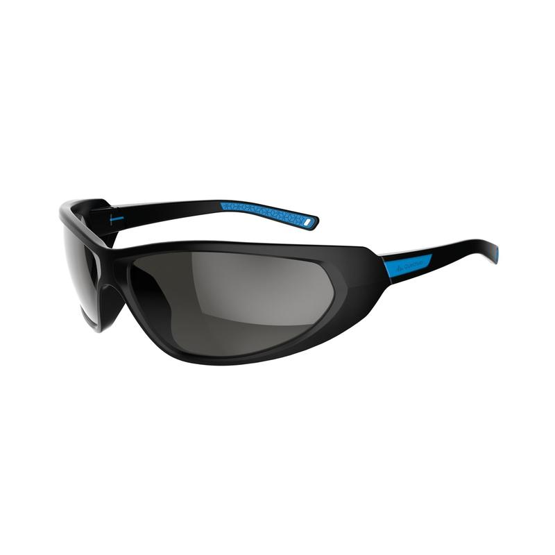 66a5e624c50 Hiking Sunglasses MH550 Category 4 - Black   Blue