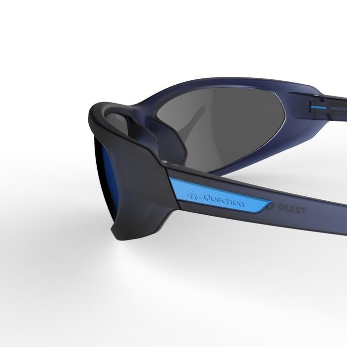 92988f90e375ff Quechua Lunettes de randonnée pour visage fin MH 510 S bleues ...