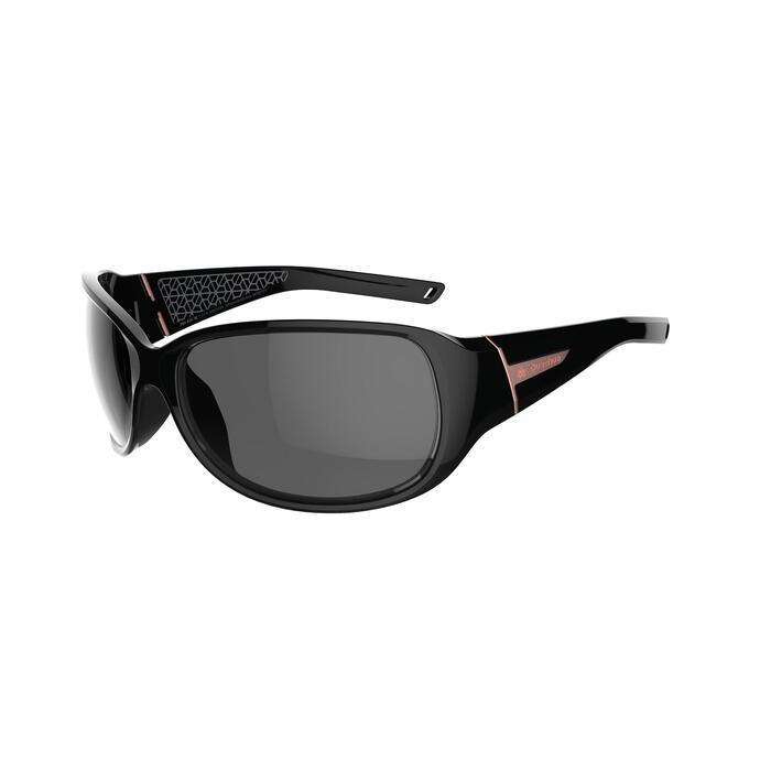 73da4c725d Gafas de sol de senderismo mujer MH550W negro categoría 4 Quechua ...