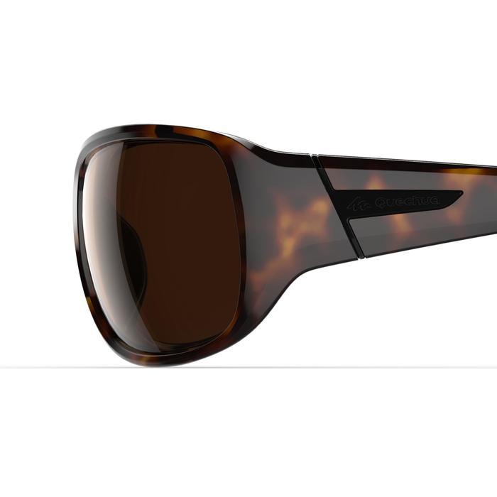 Sonnenbrille Sportbrille MH550 polarisierend Kategorie 3 Damen braun