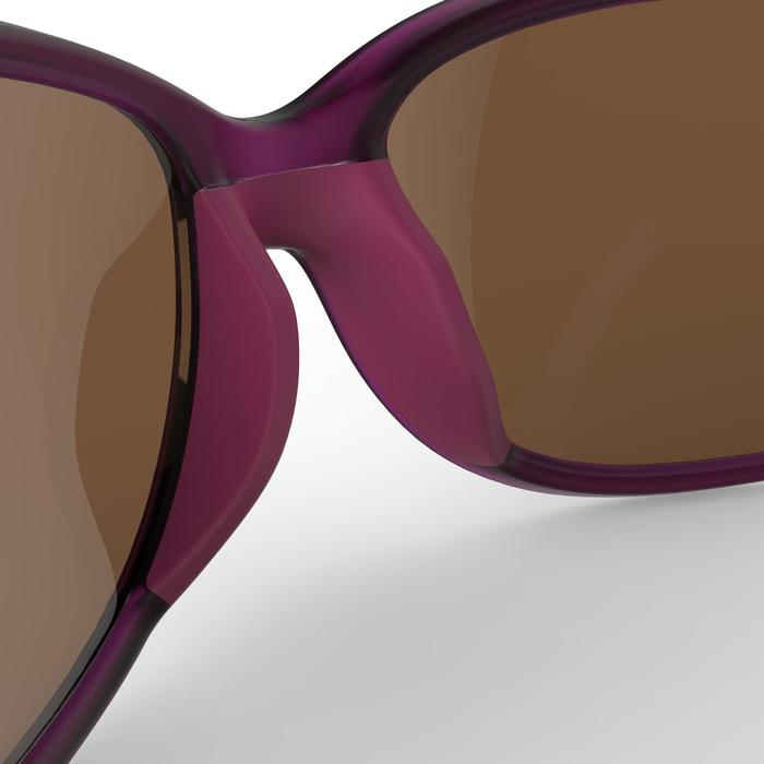 Gafas de senderismo adulto MH 510 W violeta y rosa polarizadas categoría 3