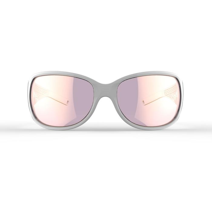 Category 3 MH510 women's polarised adult hiking goggles - White and Pink