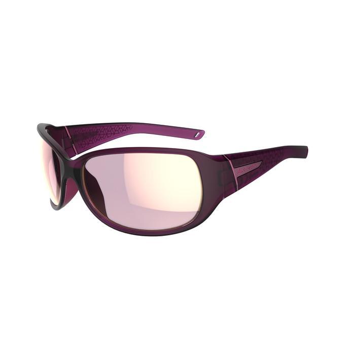 Lunettes de randonnée adulte MH 510 W violettes & roses polarisantes catégorie 3 - 1252258