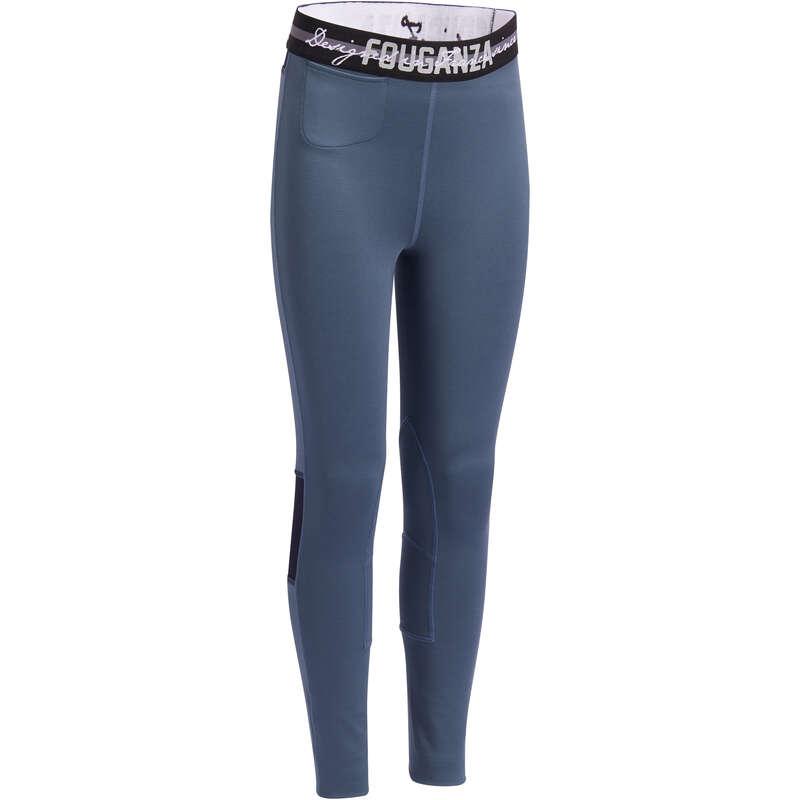 Îmbrăcăminte  echitație Jr. vreme caldă Echitatie - Pantalon 100 LIGHT Copii FOUGANZA - Echitatie