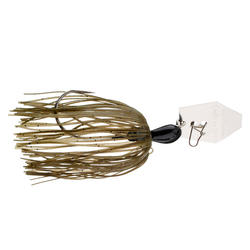 Spinnerbait Raubfischangeln Chatterbait Original 14 g Green Pumpkin
