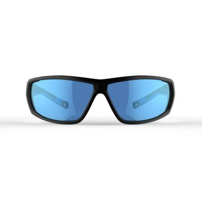 Adult Hiking Sunglasses MH570 Category 4 - Black & Blue