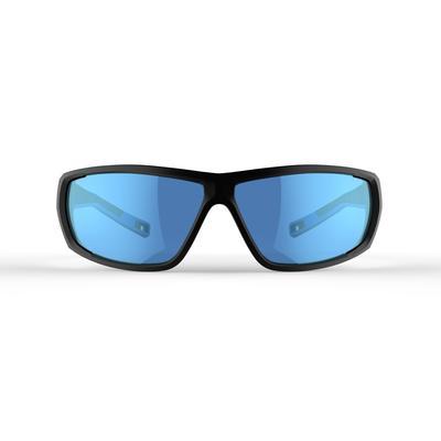 משקפי שמש לטיולים דגם MH 570 קטגוריה 4 למבוגרים - צבע שחור וכחול