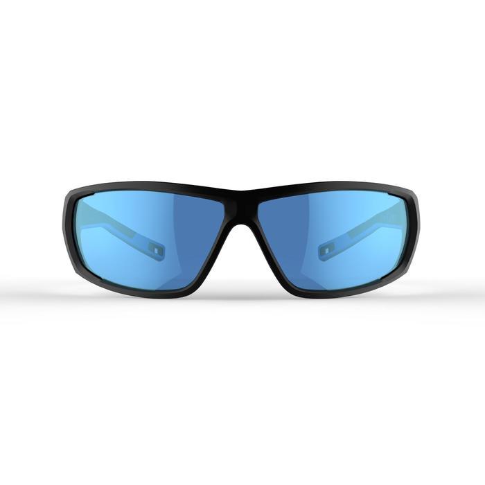 Lunettes de randonnée adulte MH 570 noires & bleues catégorie 4 - 1252387
