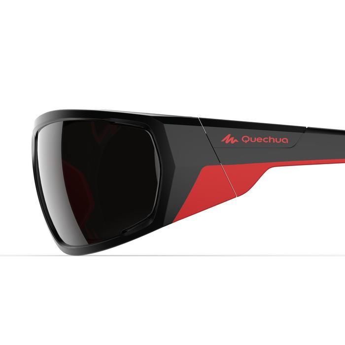 Zonnebril VW MH 570 zwart/rood polariserend categorie 4