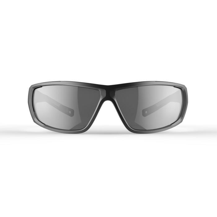 Lunettes de randonnée adulte MH 570 grises & noires polarisantes catégorie 3