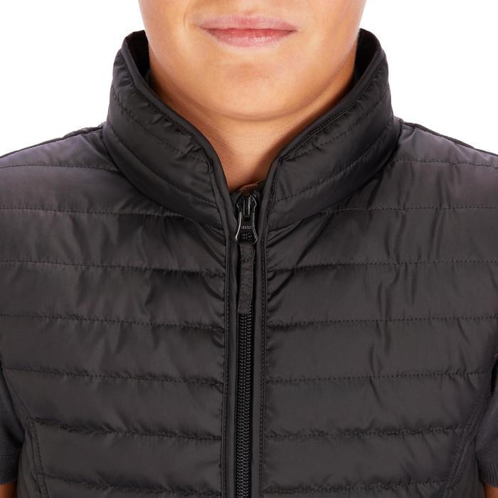 Bodywarmer ruitersport kinderen GL100 zwart