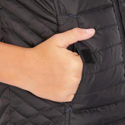 兒童款馬術無袖背心100-黑色