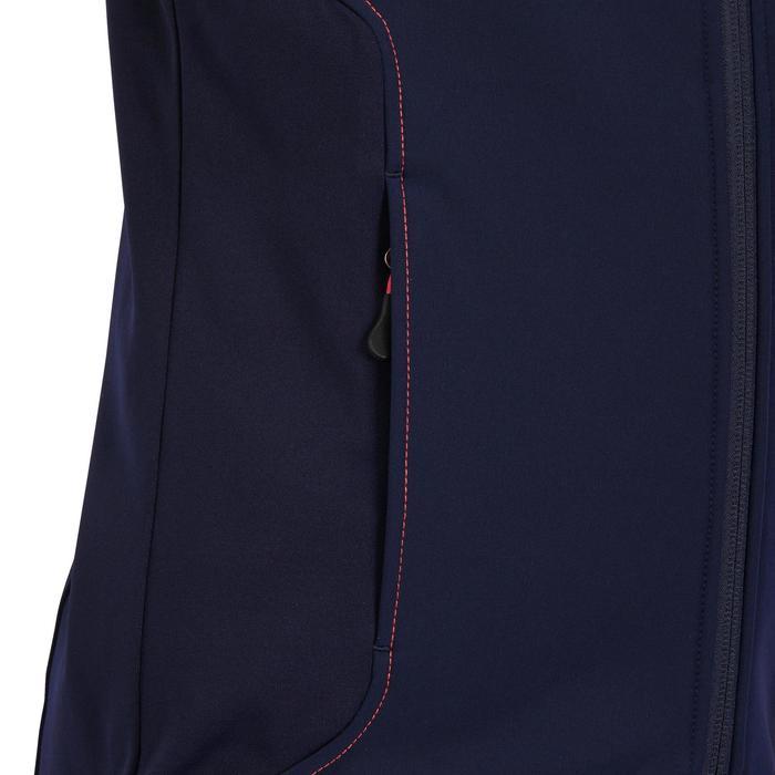 Reitweste ärmellos GL500 Kinder marineblau