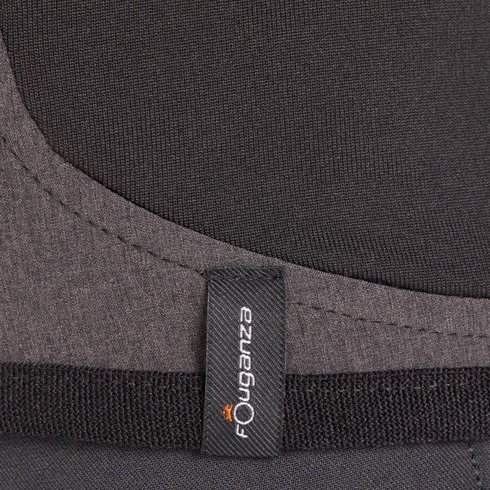 Bodywarmer voor kinderen GL500 zwart en gemêleerd grijs