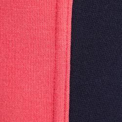 Reithose BR120 Kinder marineblau/rosa