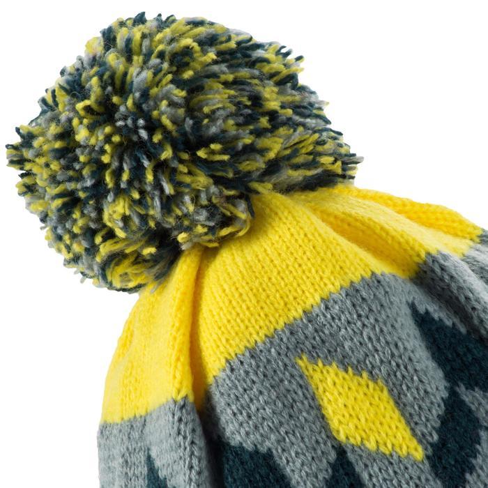 Skimuts voor volwassenen Grand Nord grijs geel