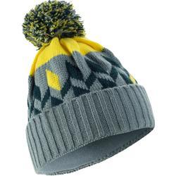 Skimütze Grand Nord grau/gelb