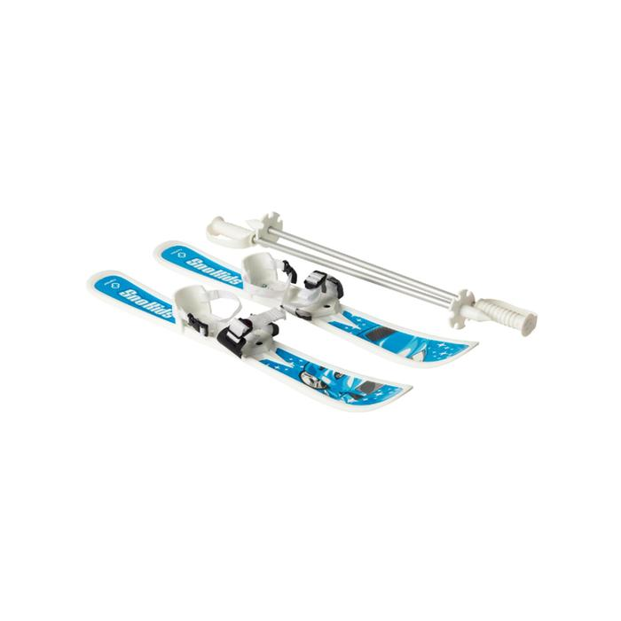 Miniski's voor kinderen Hamax blauw