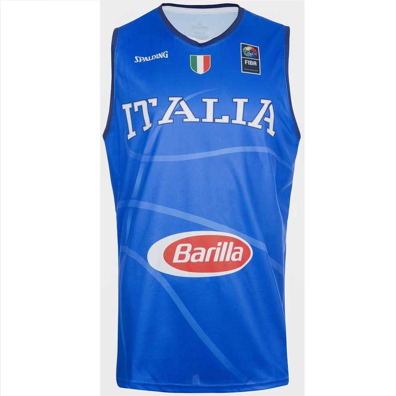 ABBIGLIAMENTO BASKET ADULTO Sport di squadra - MAGLIA NAZIONALE BASKET SPALDING - Abbigliamento Basket