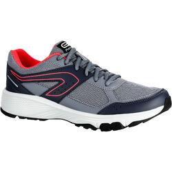 RUN CUSHION GRIP 女性慢跑運動鞋 灰色 DIVA