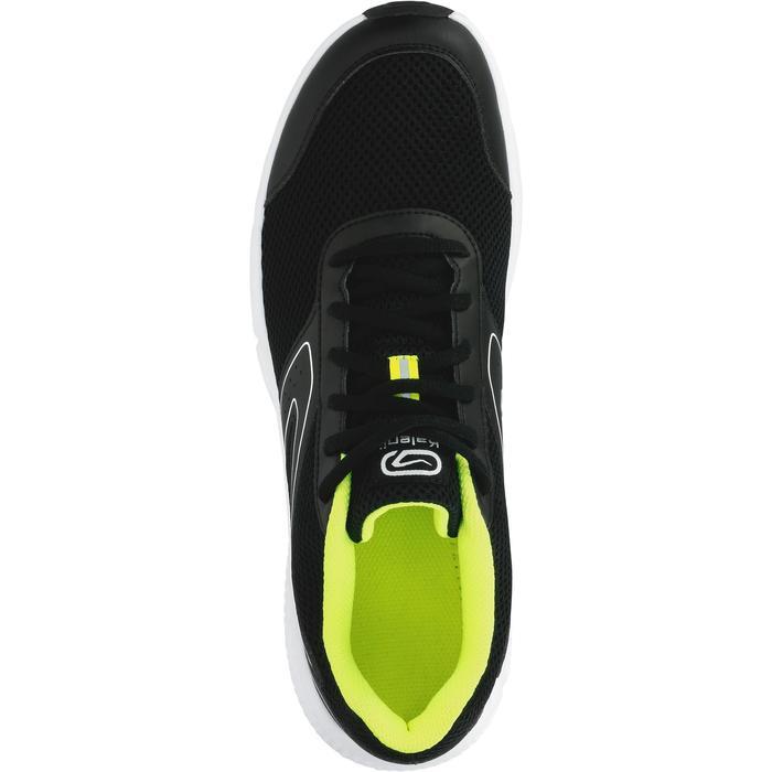 Loopschoenen voor heren Run Cushion zwart geel