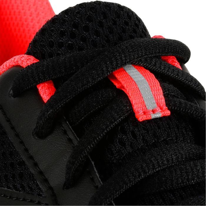 Joggingschoenen voor dames Run Cushion zwart koraal