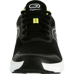 TENIS DE RUNNING PARA HOMBRE RUN CUSHION NEGRO AMARILLO