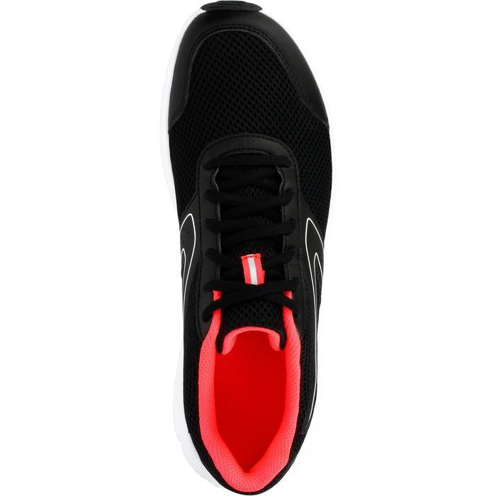 Hardloopschoenen voor dames Run Cushion zwart koraal