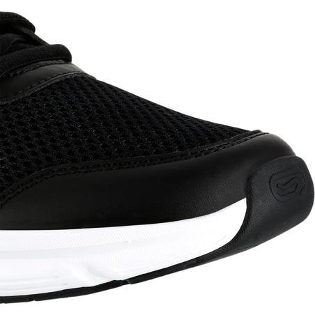 Chaussures de jogging coussin noir corail – Femmes