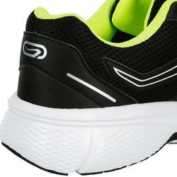 Zapatillas Running Kalenji Run Cushion Hombre Negro/Amarillo