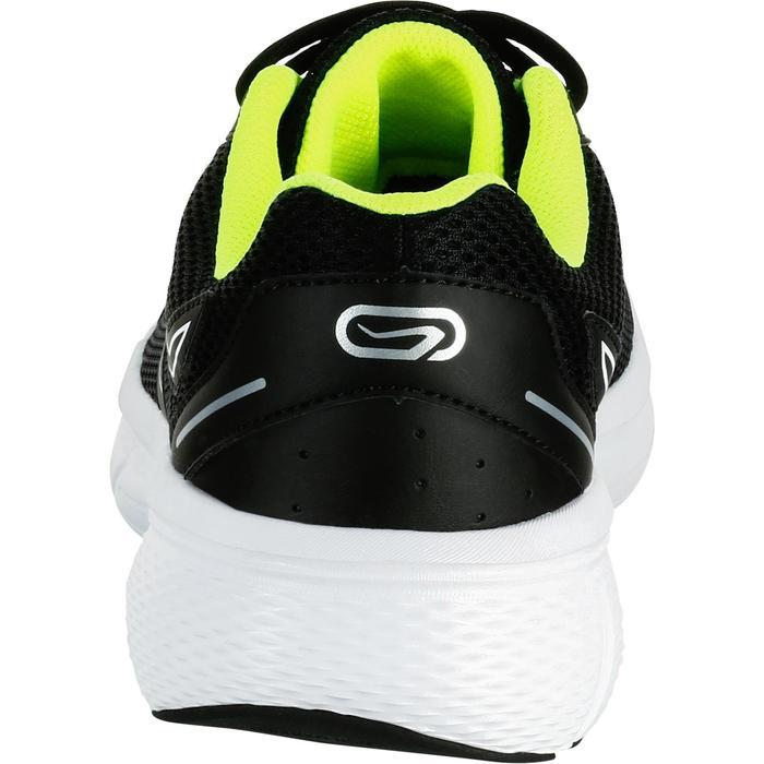 Hardloopschoenen voor heren Run Cushion Grip zwart/geel