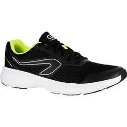 a77fe24495e08 ZAPATILLAS DE RUNNING PARA HOMBRE RUN CUSHION NEGRAS Y AMARILLAS