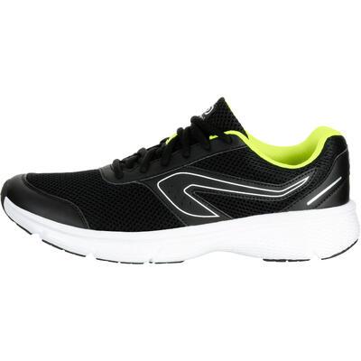 حذاء RUN CUSHION للجري للرجال -لون أسود في أصفر
