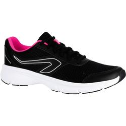 Loopschoenen voor dames Run Cushion zwart roze