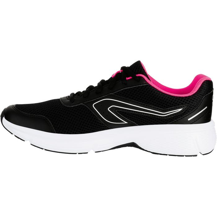 Laufschuhe Run Cushion Damen schwarz/rosa