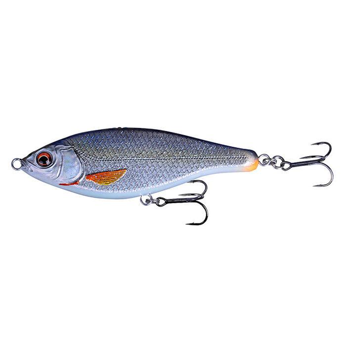 Kunstaas voor roofvissen 3D roach jerkster roach