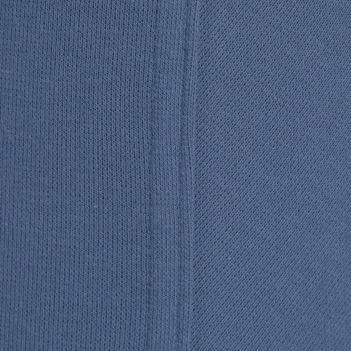 Rijbroek voor kinderen 140 met knie-inzetten grijs/blauw