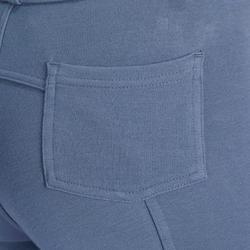140 Children's Horseback Riding Patch Jodhpurs - Blue/Grey