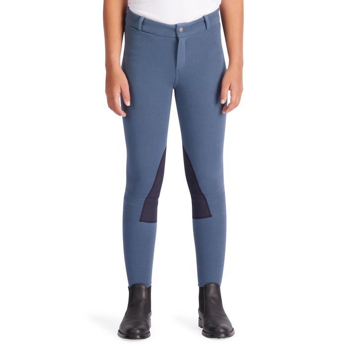 Pantalon équitation enfant BR140 basanes - 1252839