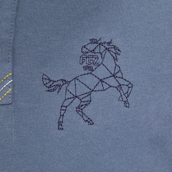 Polo manches courtes équitation garçon HORSE - 1252905