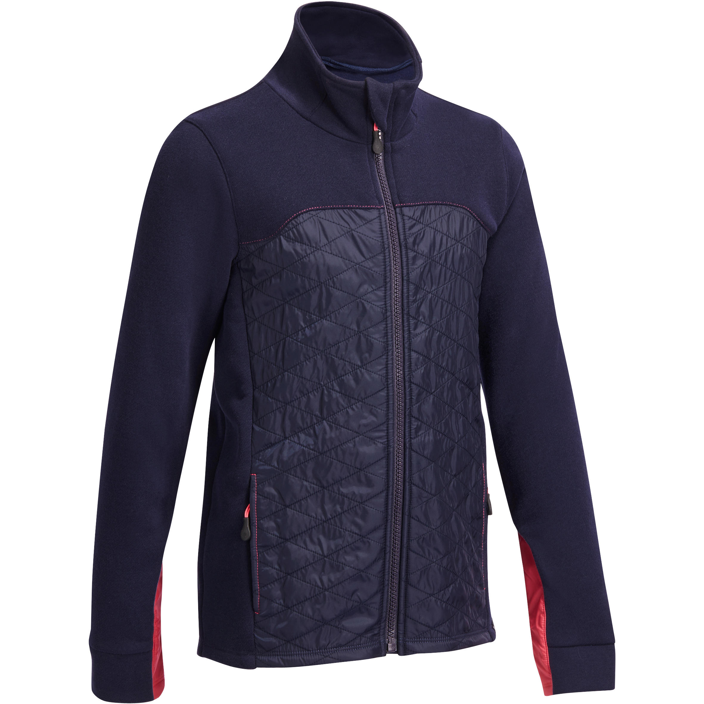 Fouganza Kindersweater voor jonge ruiters SW500 marineblauw