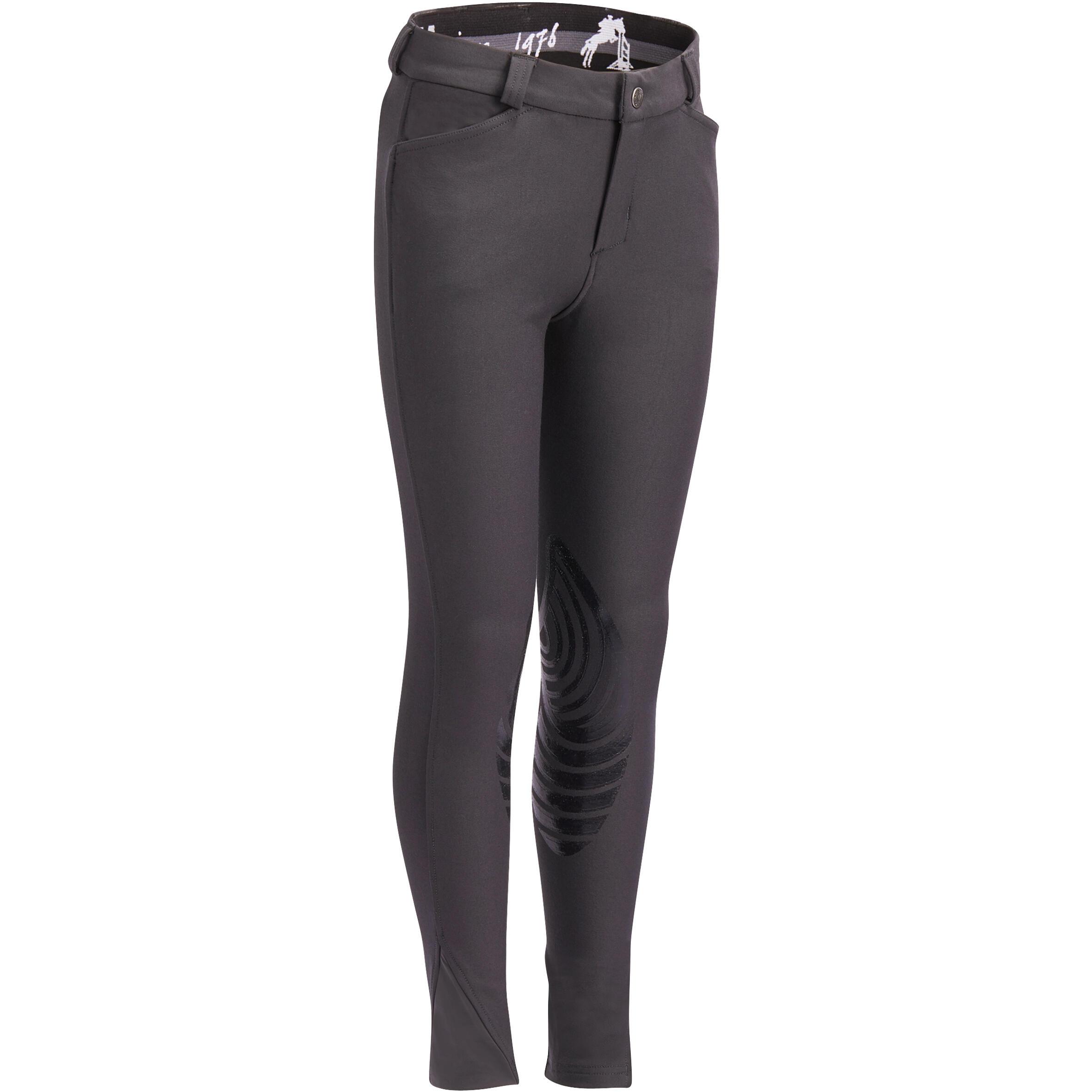 Pantalon echitație 560 GRIP